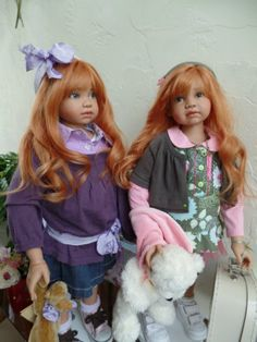 Мои ангелы-коллекционные куклы от Angela Sutter / Коллекционные куклы Angela Sutter / Бэйбики. Куклы фото. Одежда для кукол