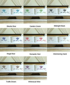 Personalized Mr Right Mrs Always Right Design Crown Wedding Pillowcases Royal - SoCuteInc.com