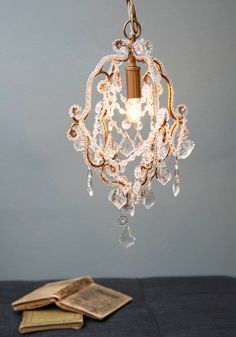 Lovely Light Chandelier. Entertain your closest friends and family in the glow of this shimmering chandelier!