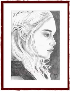 Daenerys Targaryen, Khaleesi,Mutter der Drachen,Game of Thrones,Sturmtochter