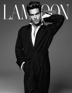 Jon Kortajarena Takes The Cover of Lampoon Magazine's Sophomore Issue