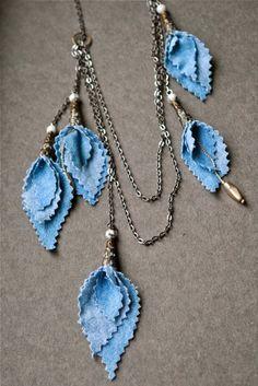 75 meilleures images du tableau bijoux textile   Bijoux textile ... 0ca2228f317