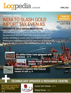 Logpedia.com's April 2014 edition of e-Magazine on International trade and logistics, with latest technology updates and quotes from CEO's of major companies in the field of logistics and commodities.