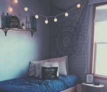 Inspiring image aesthetic, bed, blue, fairylights, fashion, grunge, hipster, indie, outfit, pale, quotes, room, soft grunge, tapestry, tumblr, pale grunge #4009543 by LuciaLin - Resolution 640x728px - Find the image to your taste