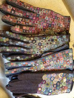 Sophie Digard is a Parisian crochet designer. She began her work in 1999.