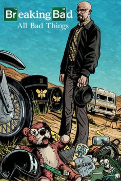 Breaking Bad: All Bad Things Recap Comic Chapter 1 Now Online