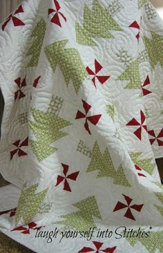 """""""...laugh yourself into Stitches"""": Christmas Pattern Give~Away"""