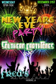 new years eve party invitation flyerposter template