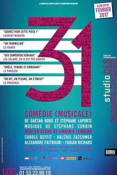 31 UNE COMEDIE MUSICALE au Studio des CHAMPS-ELYSEES
