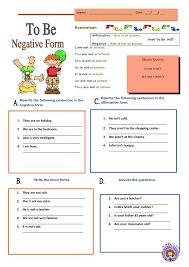 Risultati immagini per verb to be exercises for children