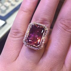 "177 Likes, 2 Comments - Omi Privé (@omiprive) on Instagram: ""Thanks @jewelersofamerica for sharing our new tourmaline ring!  From @jewelersofamerica -  Who…"""