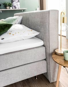 Bedroom Inspiration | Bed with headbord | Eastborn Mandurah Boxspring | Luxebedden.nl