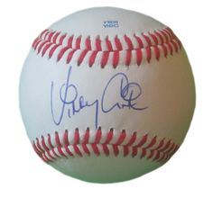 Atlanta Braves Vinny Castilla signed Rawlings ROLB leather Baseball w/ proof photo.  Proof photo of Vinny signing will be included with your purchase along with a COA issued from Southwestconnection-Memorabilia, guaranteeing the item to pass authentication services from PSA/DNA or JSA. Free USPS shipping. www.AutographedwithProof.com is your one stop for autographed collectibles from Atlanta sports teams. Check back with us often, as we are always obtaining new items.
