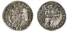 NumisBids: Numismatica Varesi s.a.s. Auction 67, Lot 460 : VENEZIA SILVESTRO VALIER (1694-1700) Mezzo Leone per il Levante,...