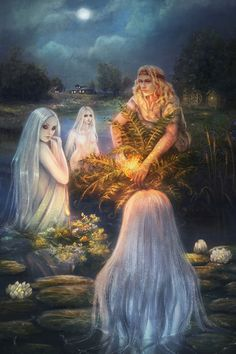 According to the myth, Fern Flower blooms for a very short time on the eve of the Summer solstice, on the eve of Ivan Kupala Day.