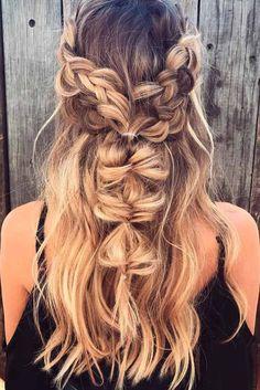 Nouvelle Tendance Coiffures Pour Femme 2017 / 2018 18 Les meilleurs coiffures de Bohême qui tournent les coiffures de Bohemian valent la peine