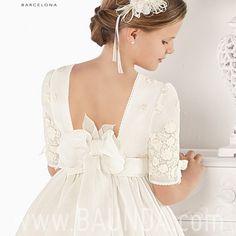 Baunda Vestidos de comunión 2017 en Baunda Madrid y tienda online