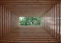 spruce hut + finnish pavilion - biennale di venezia - 2014 - anssi lassila - photo tuomo tammenpää