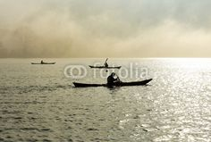 Canoe nella nebbia - canoe in the fog © Pietro D'Antonio