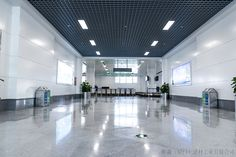 Sanming Airport---Winsom aluminum honeycomb panel application, with super flat, big panel.