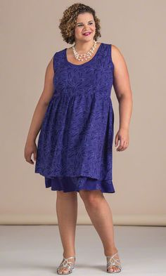 Rose Dress / Mother's Day Fashion & Gifts / MiB Plus Size Fashion for Women
