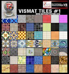 vismat tiles vray for sketchup Prop Design, 3d Design, House Design, Autocad, Google Sketch, Top Down Game, Mug Template, Sketchup Model, Pretty Drawings