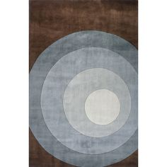 New Wave 82 Teal Contemporarty Wool Rug - NW-82TEL By Momeni Rugs
