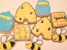 Classic Winnie the Pooh Cookies