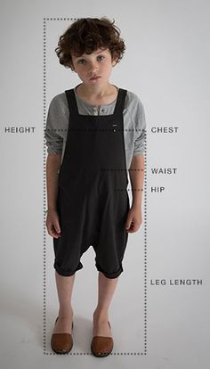Size guide Gray Label