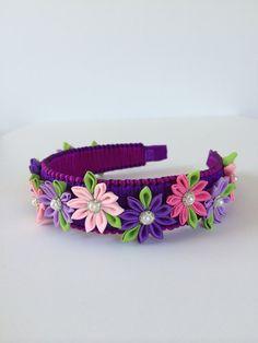 Hey, I found this really awesome Etsy listing at https://www.etsy.com/listing/191315765/girl-headband-girl-kanzashi-headband