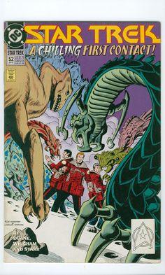 Star Trek Number 52 September DC Comics 1993