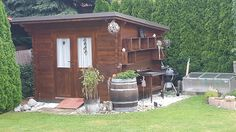 Shed, Outdoor Structures, Deko, Backyard Sheds, Coops, Barns, Tool Storage, Barn