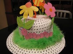 Garden Party Easter Hat