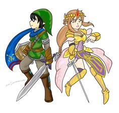 SAO X Hyrule Warriors by Xero-J.deviantart.com on @DeviantArt