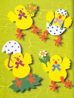 Αρχείο λευκωμάτων Easter Art, Easter Crafts For Kids, Easter Activities, Craft Activities, Handmade Crafts, Diy Crafts, Birthday Charts, Diy Ostern, Classroom Crafts