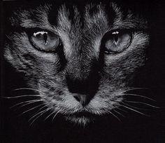 Resultado de imagen para objeto dibujado en cartoncillo negro
