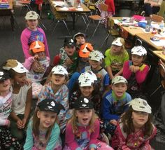 Terry Stoufer's class wearing their not perfect hats. Global Citizen, Hats, How To Wear, Hat