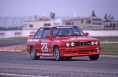 98th car - 21st race car - 1987 BMW M3 - After winning the Championship in the Sports category in 1986 the Korman Team moved into the new faster M3 but also jumped to the Grand Sports class which would prove a much tougher nut to crack!  This is Sebring Firehawk Endurance event 3-20-87 and the car was virtually right off the dock with very little time for preparation.