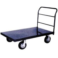 Northern Industrial Platform Truck - 1,000-Lb. Capacity, 30in. x 50in. by Northern Industrial. $159.99. Big, air-filled caster tires roll your cargo around smoothly and quietly. 2 rigid and 2 swivel casters. Platform Height (in.): 2 3/8, Caster Type: Rigid/swivel, Wheel Type: Air-filled, Load Capacity (lbs.): 1,000, Wheel Size (in.): 8 x 2.5-4, Platform Size L x W (in.): 50 x 30