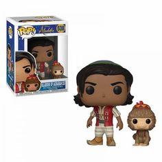 Funko Pop Aladdin Live-Action Aladdin with Abu Pop! Vinyl FigureThis Aladdin Live-Action Aladdin with Abu Pop! Vinyl Figure measures approximately 3 tall. It comes packaged in a window display box. Ages 3 and up. Disney Pop, Disney Aladdin, Aladdin Live, Disney Live, Pop Vinyl Figures, Funko Pop Dolls, Funko Toys, Pop Figurine, Funk Pop