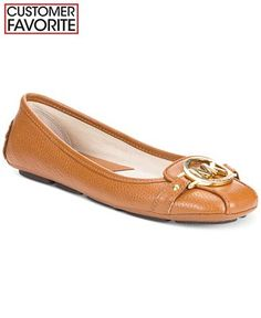 MICHAEL Michael Kors Fulton Moc Flats - Flats - Shoes - Macy's