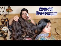 Hair Oil & Toner For Faster Hair Growth in Summer One Year Hair Growth, Hair Growth Tips, Hair Care Tips, Fashion Illustration Hair, Beauty Skin, Hair Beauty, Hair Toner, Fast Hairstyles, Hair Remedies