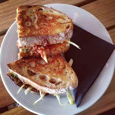 FAT @ Sharps W1. http://www.faerietalefoodie.com/dunnefrankowski-at-sharps-f-a-t-ultimate-toasties