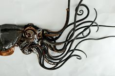 - steampunktendencies:   Steampunk Squidipus byAlan...