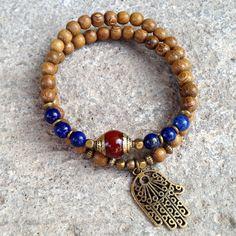 54 bead wrap mala bracelet by #lovepray #jewelry