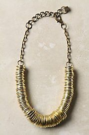 Love this strung coin necklace!