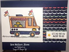 Lily's Ink Pad: Stampin' Addicts Sale-a-bration Blog Hop 2017: Tasty Trucks