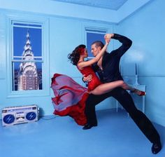 Oh, to dance!  photo by David Lachapelle -detail.