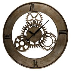 Gears Wall Clock..for my lab! 0.o