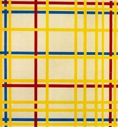 New York City (1942) Piet Mondrian